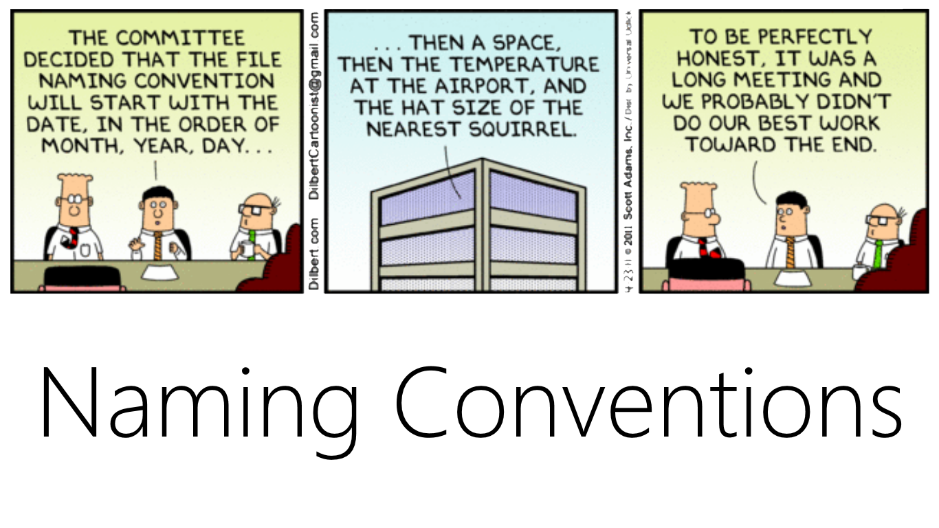 NamingConventions